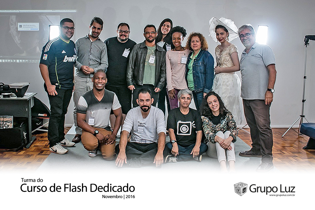 turma Curso Flash Dedicado 2016 - Curso de Flashes Dedicados