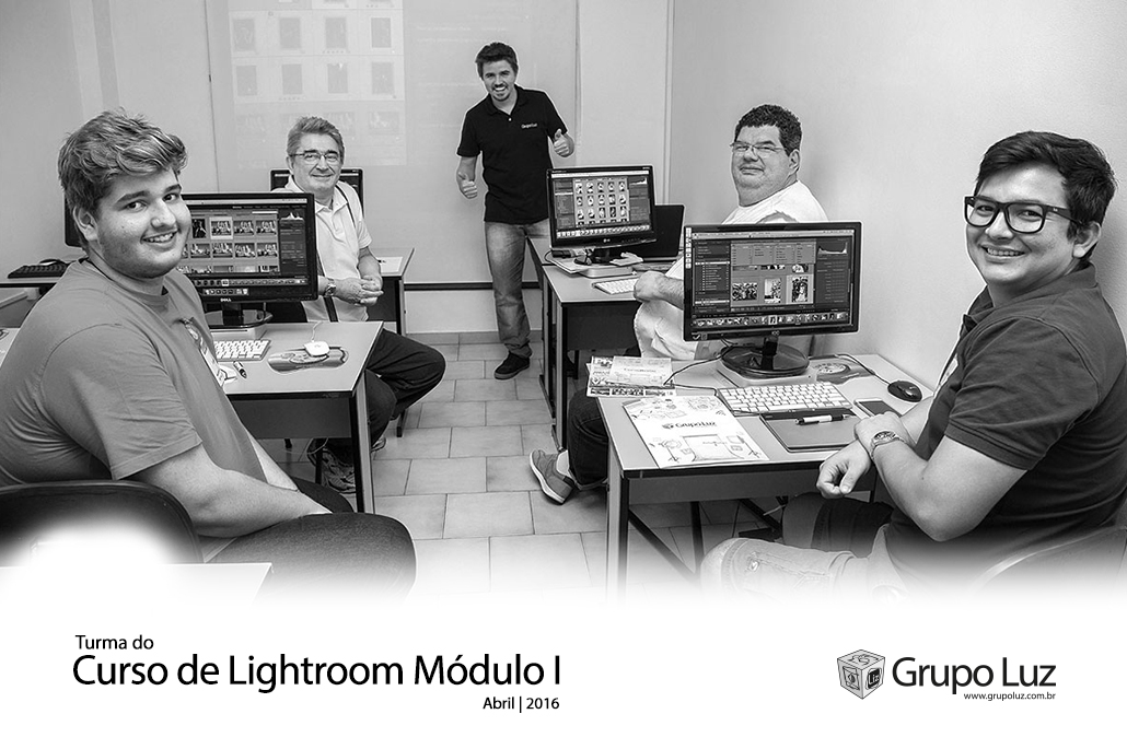 turma Curso Lightroom Modulo I 2016 - Curso de Lightroom
