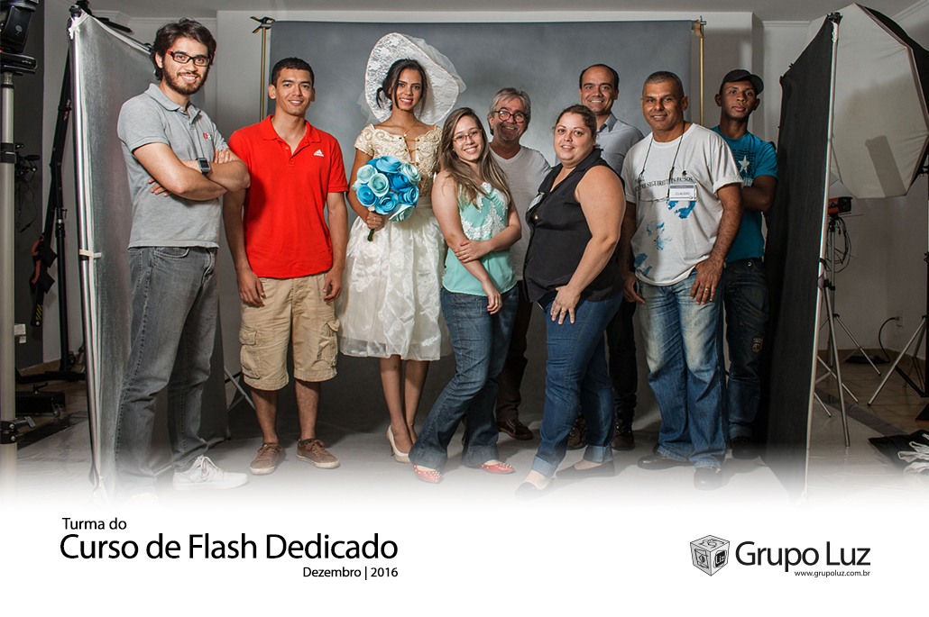 turma Curso de Flash Dedicado 2016 - Curso de Flashes Dedicados