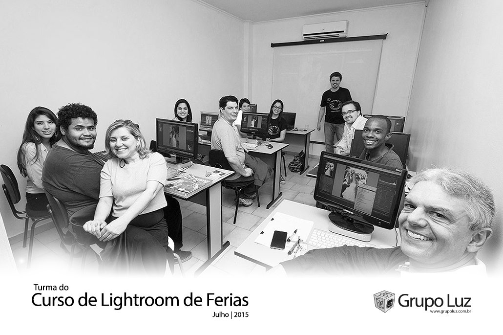 turma Lightroom de ferias 2015 - Curso de Lightroom