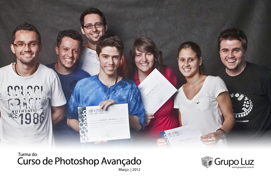 turma Photoshop Avancado 2 2012 - Foto da Turma do Curso de Photoshop Avançado 2012