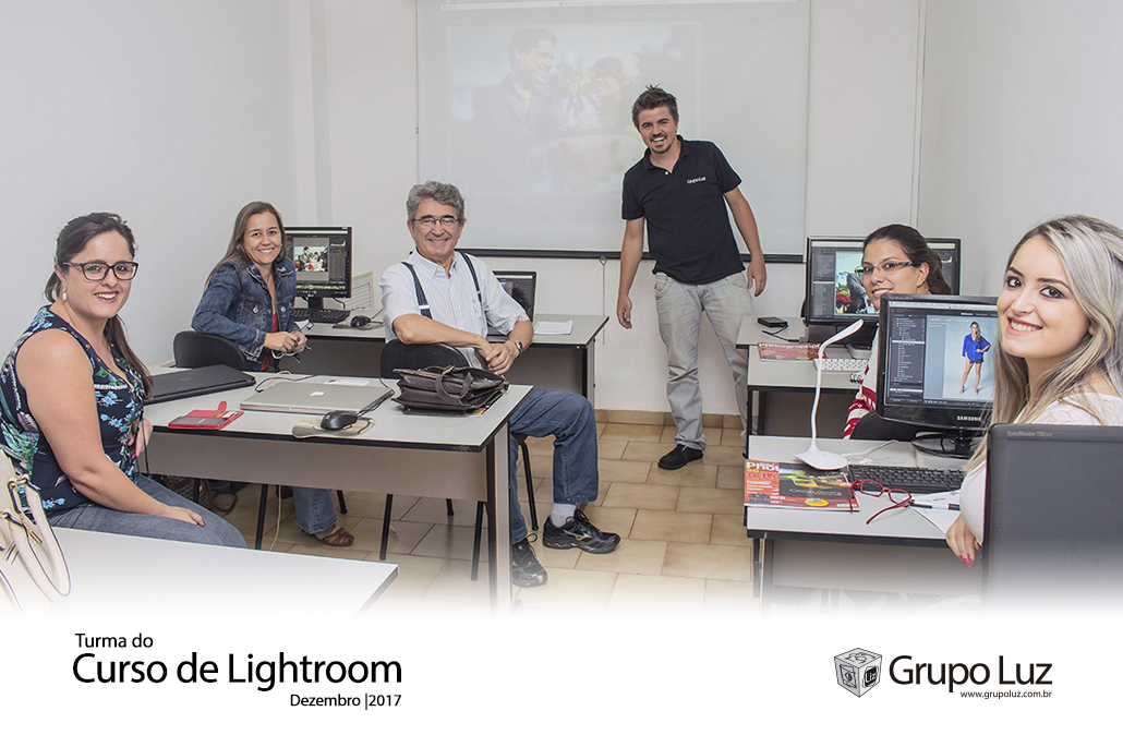 turma de Lightroom 2017 - Curso de Lightroom