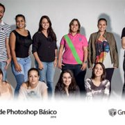 turma de Photoshop Basico 2014tumb 180x180 - Foto da Turma do Curso de Photoshop Básico 2014
