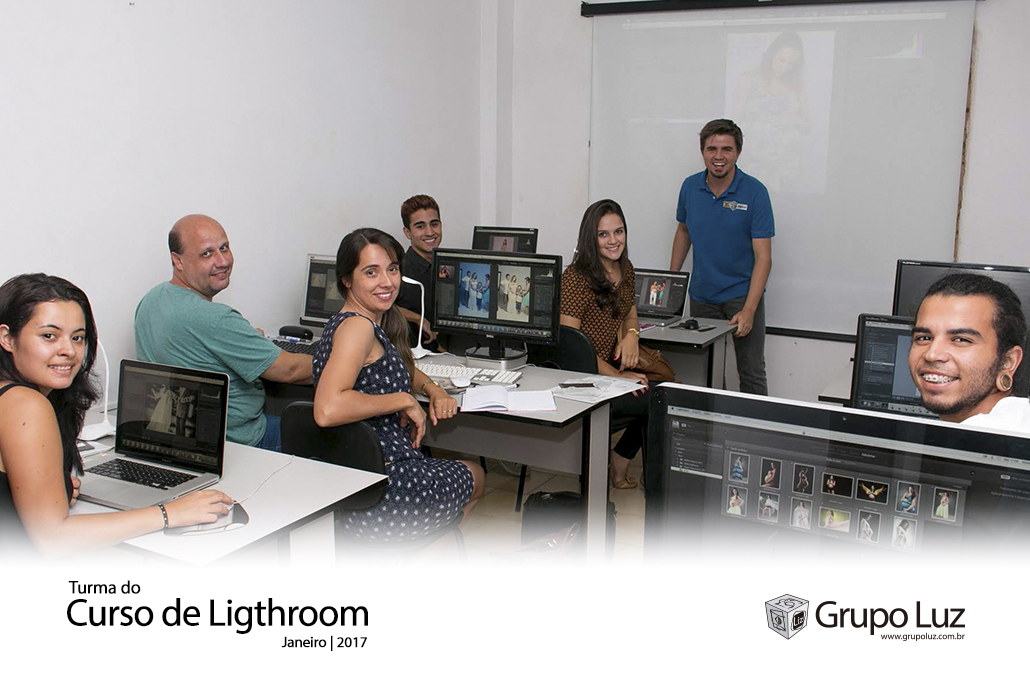 turma de lightroom 2017 2 - Curso de Lightroom