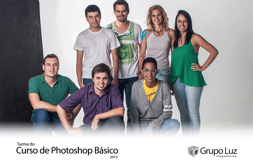 turma de photoshop basico 2013 5 - Foto da Turma do Curso de Photoshop Básico 2013