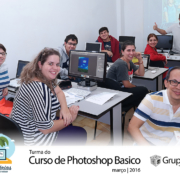 turma photoshop Basica 2016 180x180 - Foto da Turma do Curso de Photoshop Básico 2016
