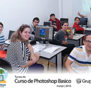 turma photoshop Basica 2016 tumb 180x180 - Foto da Turma do Curso de Photoshop Básico 2016